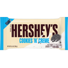 HERSHEY'S GIANT COOKIES AND CREAM TAB 184GR