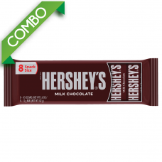 HERSHEY'S CHOCOLATE 8 PACK 102 GR