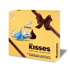 HERSHEY'S GIFT KISSES COOKIES AND CREAM /CHOCOLATE  230GR