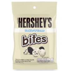 HERSHEY'S BITES COOKIES AND CREAM 43GR