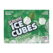 ICE CUBES BLISTER HIERBABUENA 27.6GR
